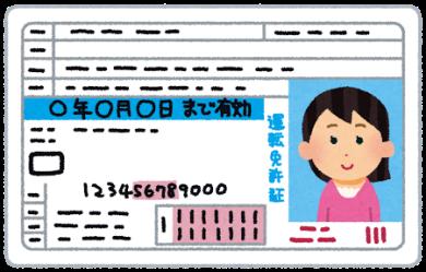 マッチブック免許証