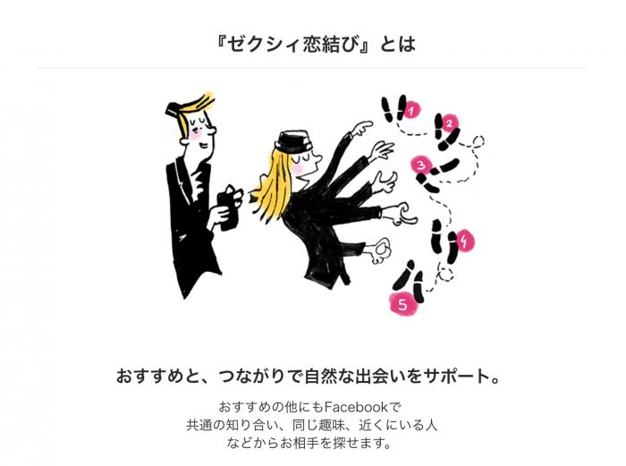 ゼクシィ恋結びとは(スクショ)